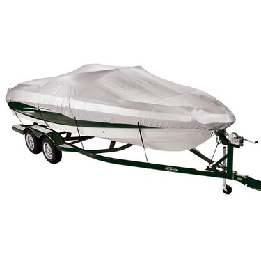 Covermate 150 Mooring and Storage Boat Cover for 14'-16' V-Hull Fishing Boat