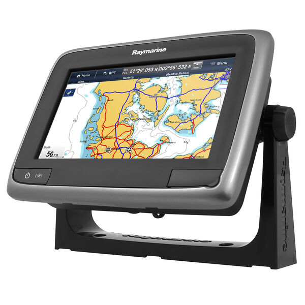 "Raymarine a67 5.7"" MFD Touchscreen Display With Wifi, Sonar, And Gold Chart"