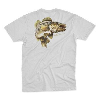 Fin Fighter Men's Walleye Short-Sleeve Tee