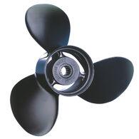 Michigan Wheel 3-Blade Prop, Pressed Rubber Hub / Aluminum, 13 dia x 19, RH