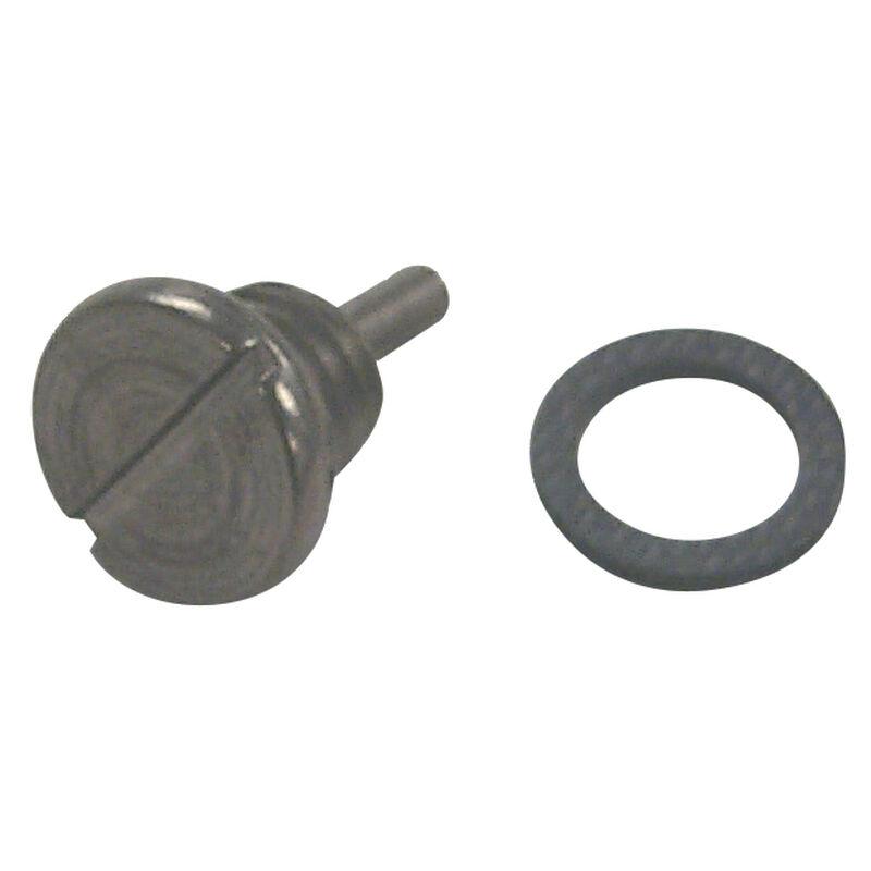 Sierra Magnetic Drain Screw For OMC Engine, Sierra Part #18-2378 image number 1