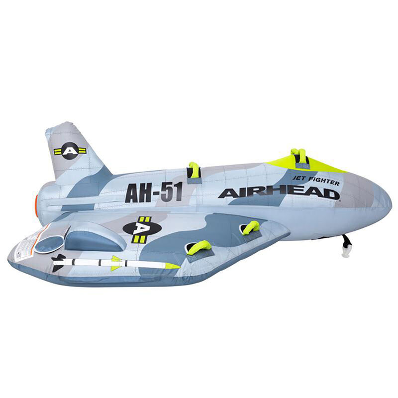 Airhead Jet Fighter 4-Person Towable Tube image number 7