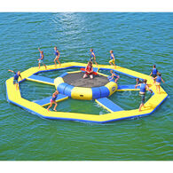 RAVE Spin Wheel With Bongo 13 Bounce Platform