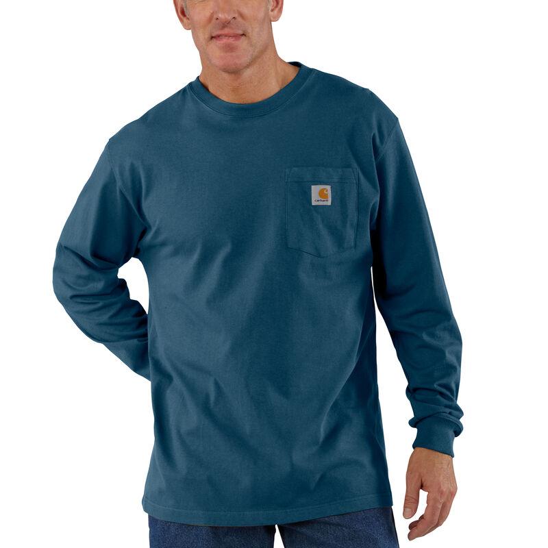 Carhartt Men's Workwear Long-Sleeve Pocket Tee image number 2