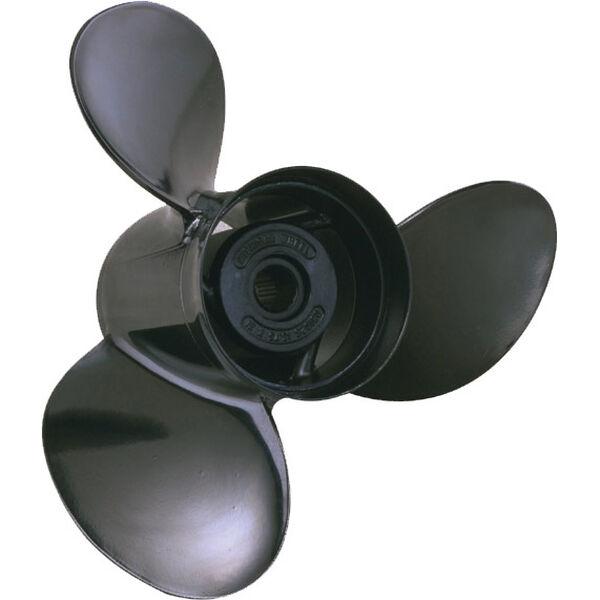Michigan Wheel 3-Blade Prop, Pressed Rubber Hub / Aluminum, 14 dia x 11, RH