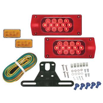 "Optronics Waterproof LED Over 80"" Wide Trailer Light Kit"