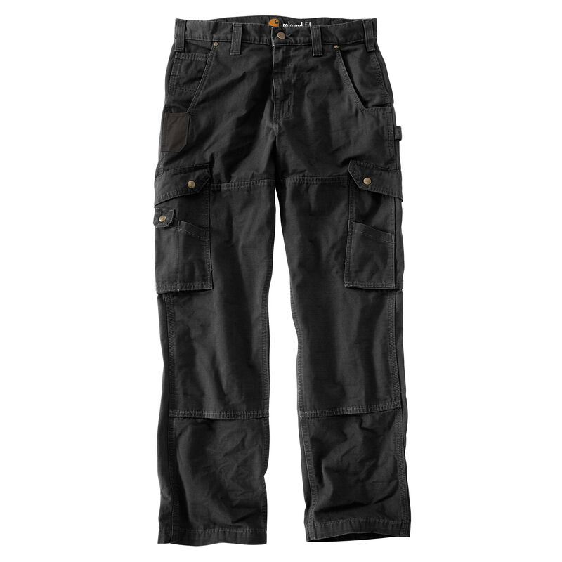 Carhartt Men's Relaxed Fit Double-Front Cargo Work Pant image number 6