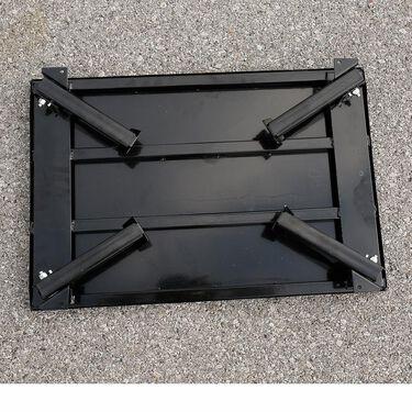 Folding Steel Platform Step Stool