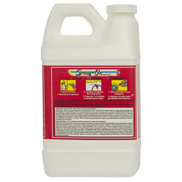 Toon-Brite Spray-on Fiberglass Cleaner With Sprayer, 1/2 Gallon