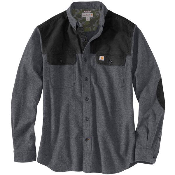 Carhartt Men's Burleson Heather Chamois Long-Sleeve Shirt
