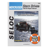 Seloc Marine Stern Drive & Inboard Repair Manual for Mercruiser '92 - '00