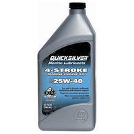 Quicksilver 4-Cycle SAE 25W-40 Sterndrive/Inboard Oil Quart