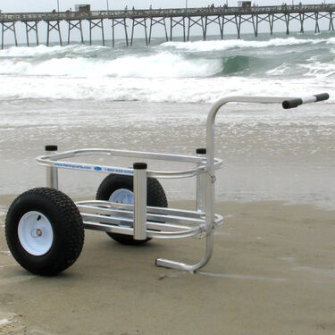 Reels On Wheels Beach Buddy Pier Cart