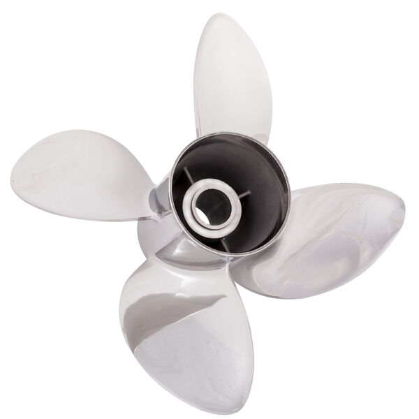Solas Rubex L4 4-Blade Propeller, Exchangeable Hub / SS, 15.25 dia x 24, LH