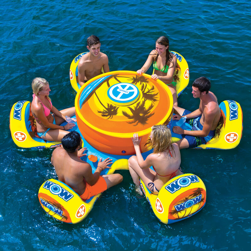 WOW Octo Island 6-Person Floating Table image number 1