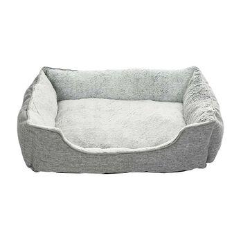 """Grey Pet Bed, 31 1/2"""" x 23"""""""