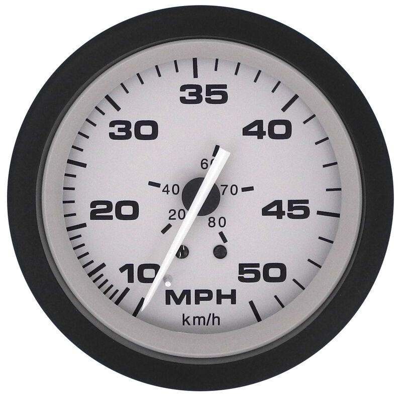 "Sierra Driftwood 3"" Speedometer, 50 MPH image number 1"