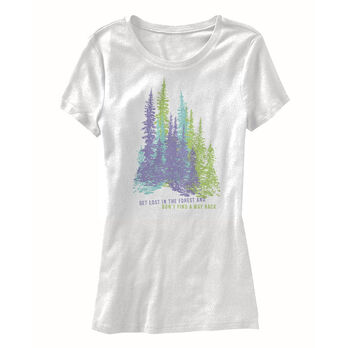 Points North Women's Trees Short-Sleeve Tee