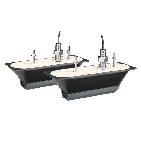 Garmin CV51M-THP Traditional/ClearVu/SideVu Thru-Hull Transducers, Pair