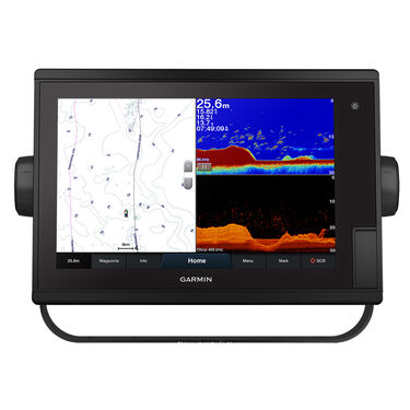 Garmin GPSMAP; 1222xsv Plus SideVü, ClearVü & Traditional CHIRP Sonar w/Worldwide Basemap