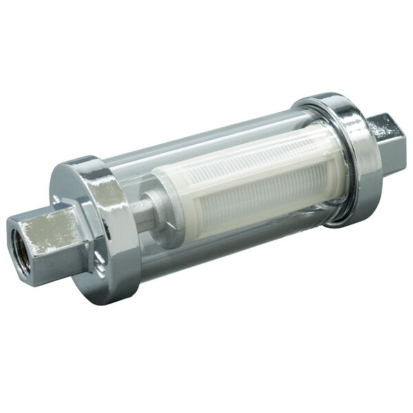 Scepter Inline Glass View Fuel Filter With Barb Kit