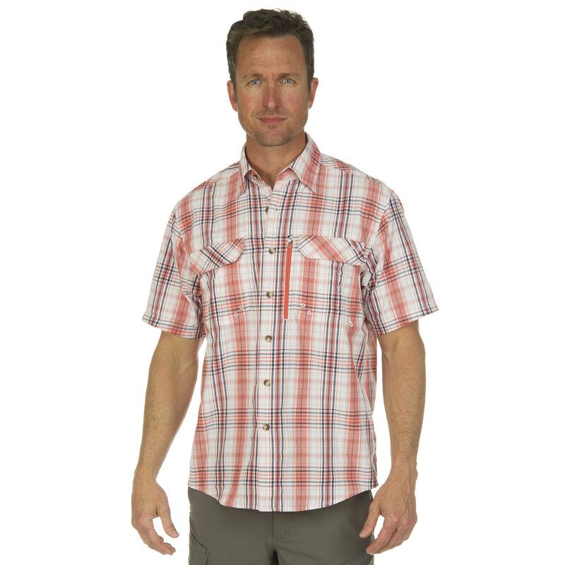 Nepallo Men's Trophy Quick-Dry Plaid Short-Sleeve Shirt image number 4