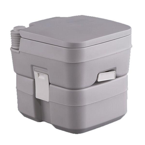 Portable 5 Gallon Gray Toilet