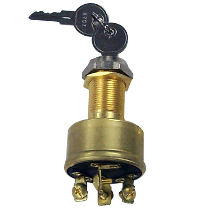 Sierra 4-Position Ignition Switch, Sierra Part #MP41020 image number 1