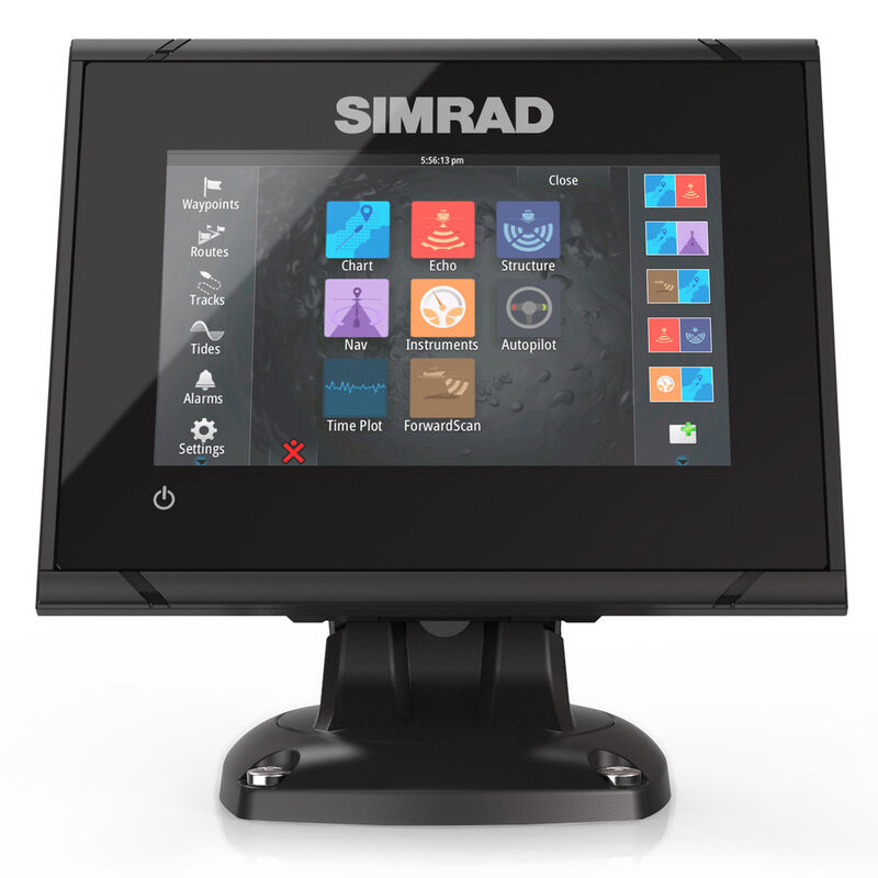 Simrad GO5 XSE Fishfinder Chartplotter With TotalScan Transducer And Insight USA image number 1