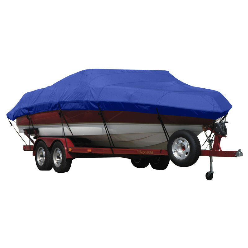 Exact Fit Sunbrella Boat Cover For Princecraft 221 Venturaw/Starboard Ladder image number 15