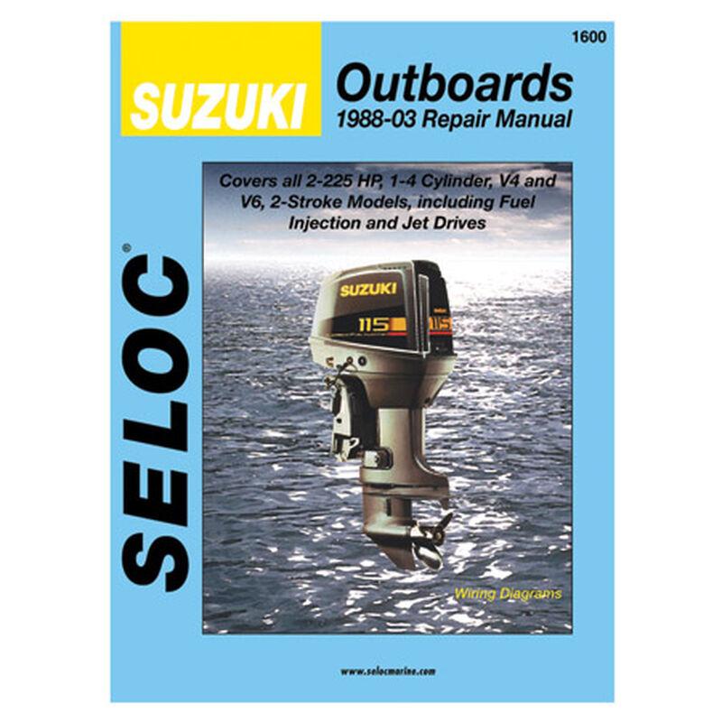 Seloc Marine Outboard Repair Manual for Suzuki '88 - '03 image number 1