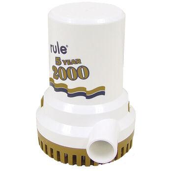 Rule 2000 Gold Series Bilge Pump