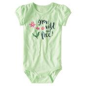 Carhartt Infant Girls' Wild & Free Bodysuit