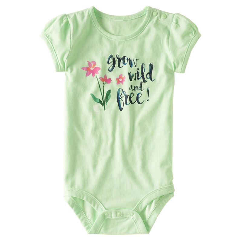Carhartt Infant Girls' Wild & Free Bodysuit image number 1