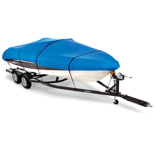"""Covermate Imperial Pro Pro-Style Bass Boat Cover, 18'5"""" max. length Blue"""