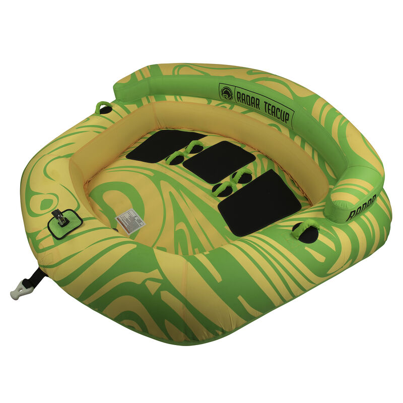 Radar Teacup 3-Person Towable Tube image number 2