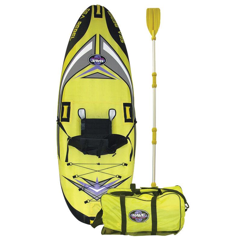 RAVE Sea Rebel Inflatable Kayak image number 1