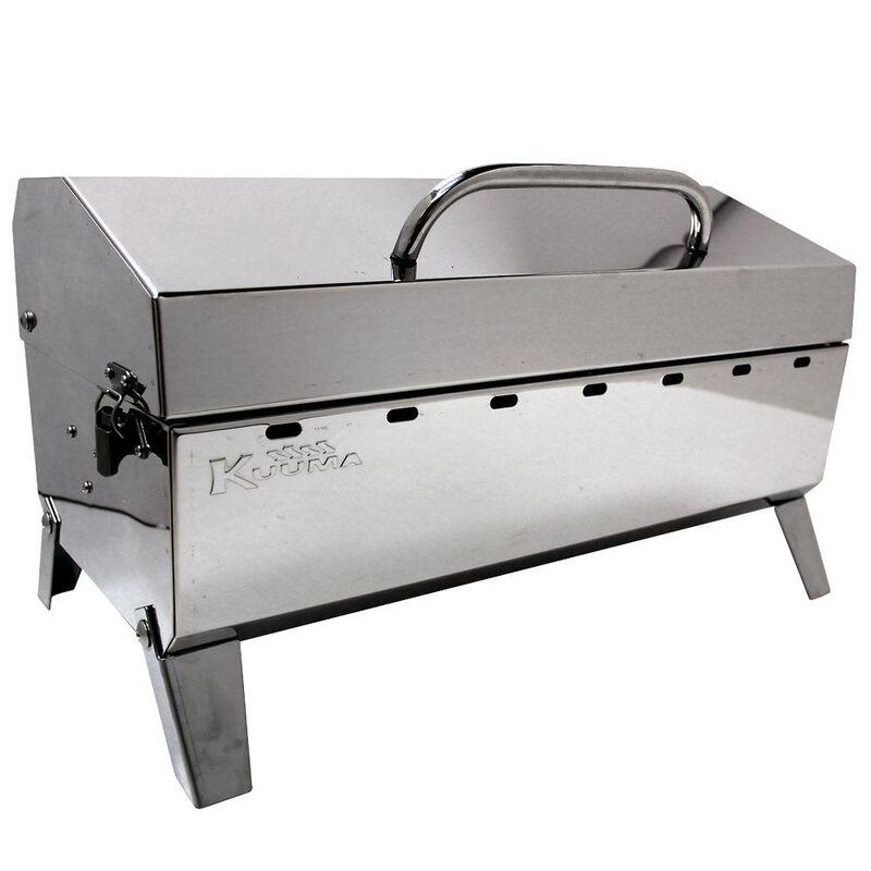 Kuuma Stainless Steel Grills - Charcoal Grill image number 1