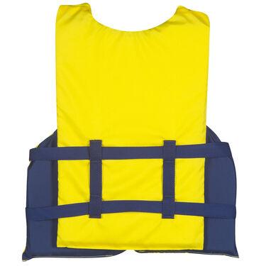Overton's XXL Adult Nylon Life Jacket, Yellow