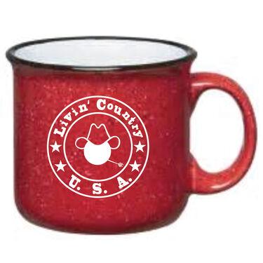 Livin' Country Campfire Ceramic Mug