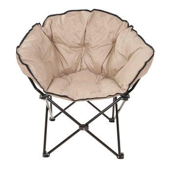 Small Club Chair, Tan