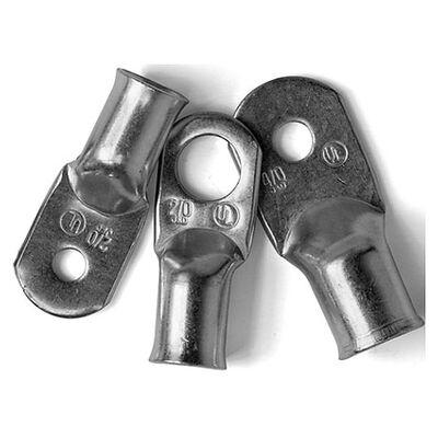"Ancor Tinned Copper Lugs, 1/0 AWG, 5/16"" Screw, 2-Pk."