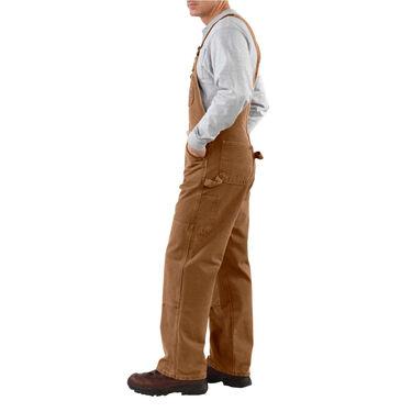 Carhartt Men's Sandstone Unlined Bib Overall