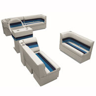 Toonmate Deluxe Pontoon Furniture w/Toe Kick Base, Complete Boat Package A