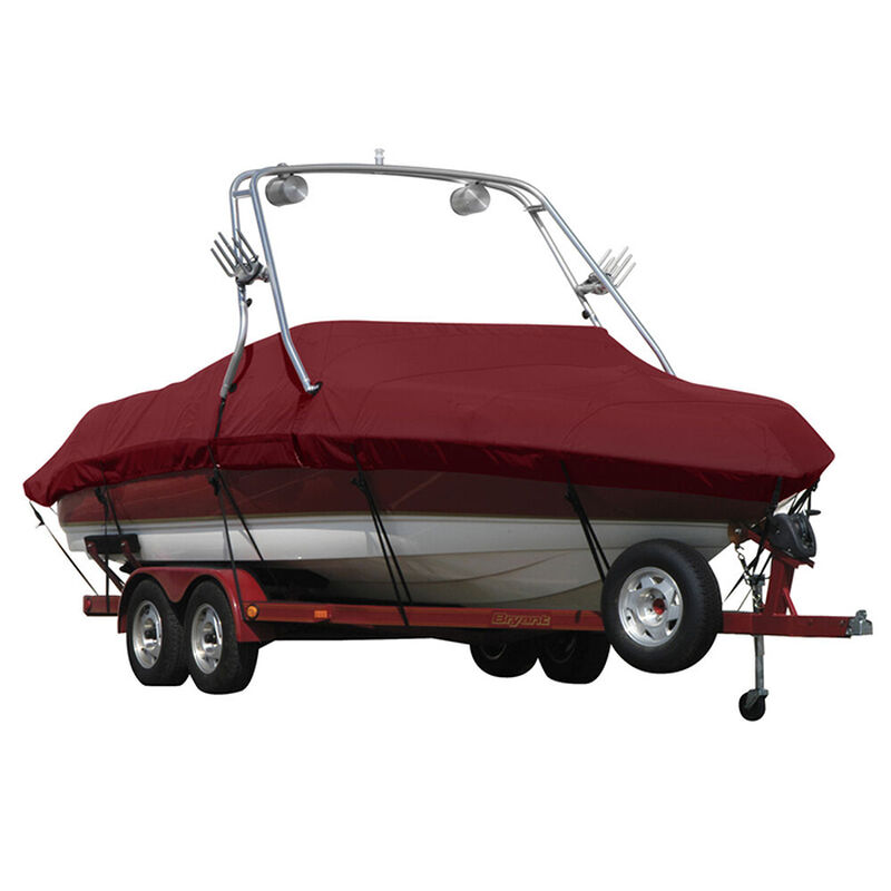 Exact Fit Sunbrella Boat Cover For Cobalt 200 Bowrider With Tower Covers Extended Platform image number 15