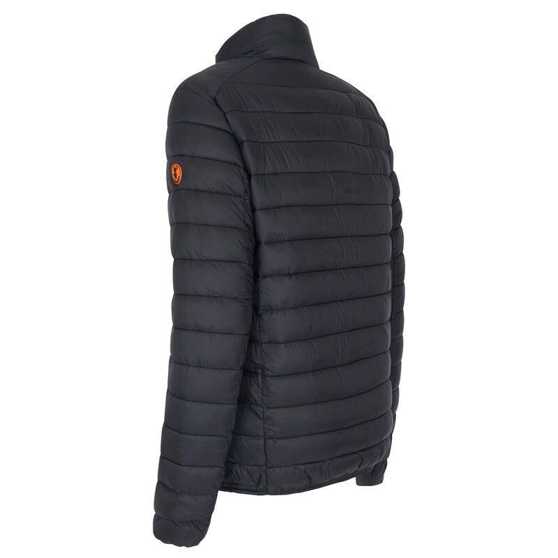 Save The Duck Men's Giga Mid Quilted Winter Coat image number 6