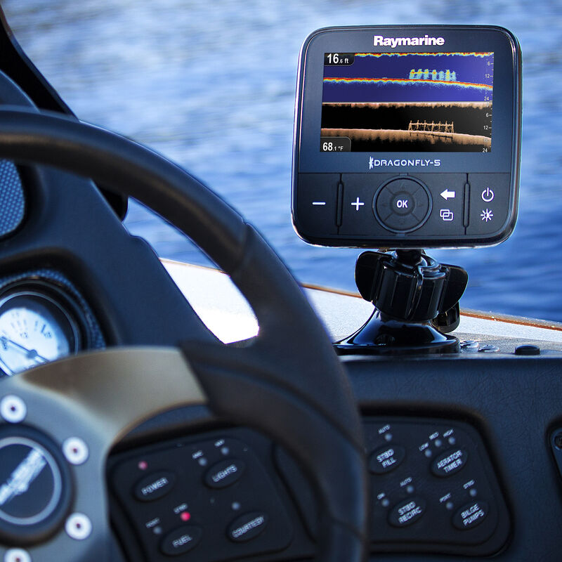 Raymarine Dragonfly 5 DVS With Dual-Channel CHIRP DownVision Sonar image number 1