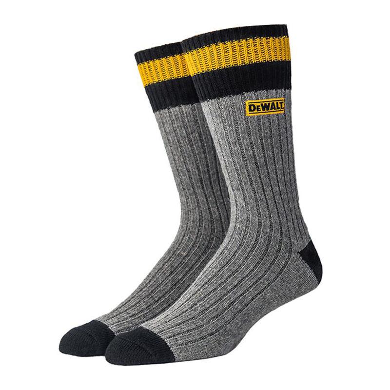 DeWalt Men's Merino Wool-Blend Work Sock image number 1