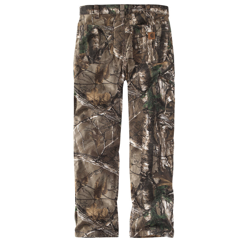 Carhartt Men's Rugged Flex Rigby Camo Dungaree Work Pant image number 4