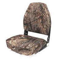 Wise High-Back Camo Fishing Chair
